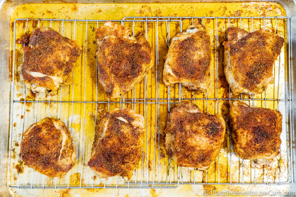 Chicken Thighs in the Oven
