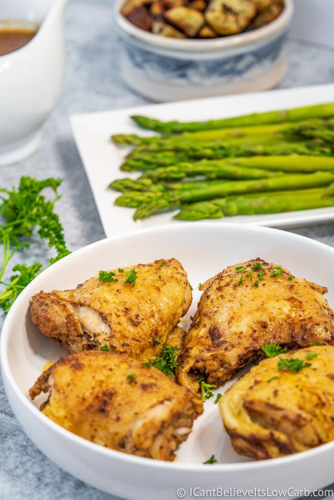 Instant Pot Pressure Cooker Chicken Thighs