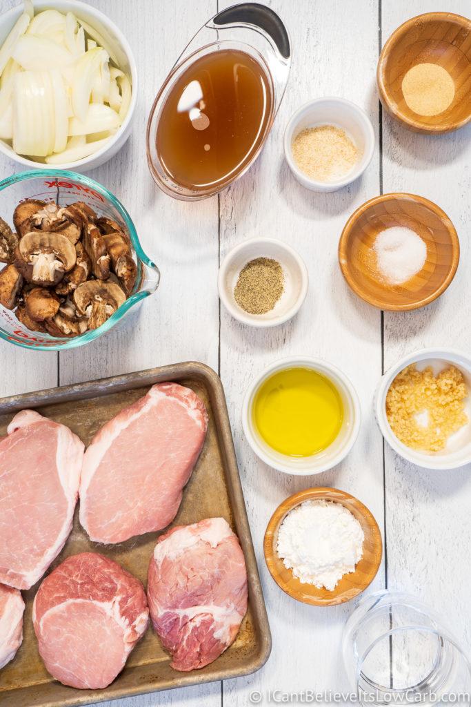 Instant Pot Pork Chops Ingredients