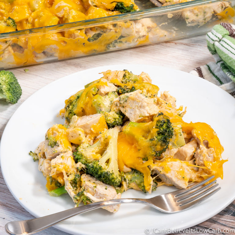 Keto Chicken Casserole