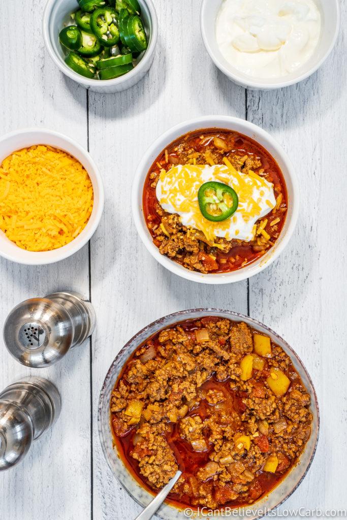 No-Bean Keto Chili Recipe