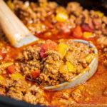 Easy Crockpot Keto Chili