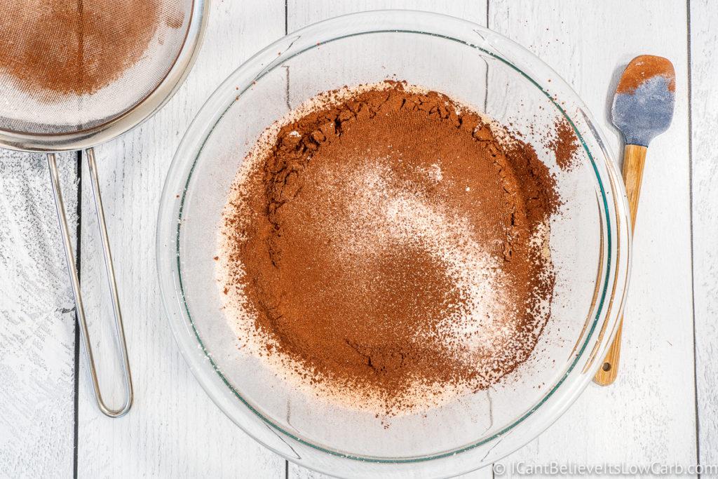 adding salt baking powder and baking soda