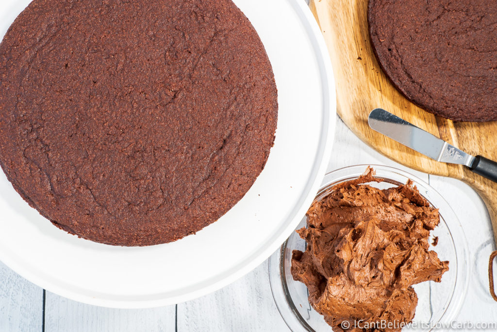 Frosting Almond Flour Chocolate Cake