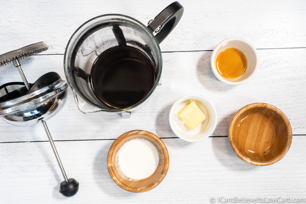 Bulletproof Keto Coffee Ingredients