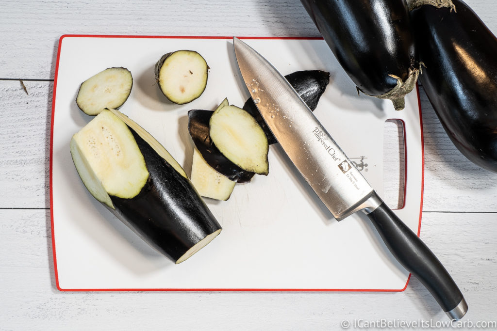 Cutting Eggplant