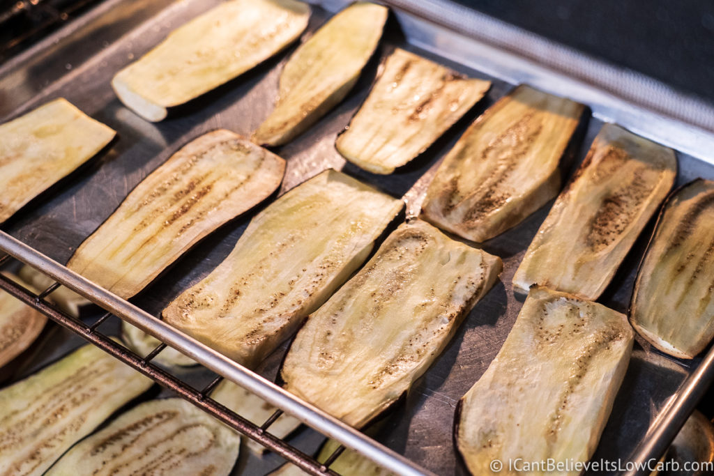 Baking Eggplant in the oven