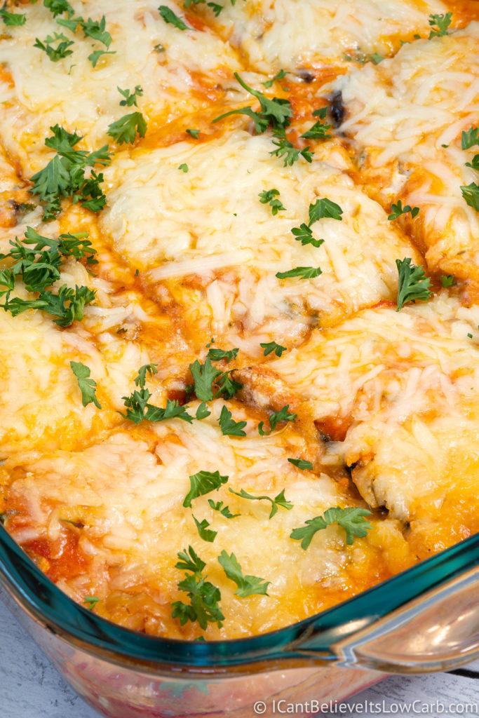 Best Eggplant Lasagna