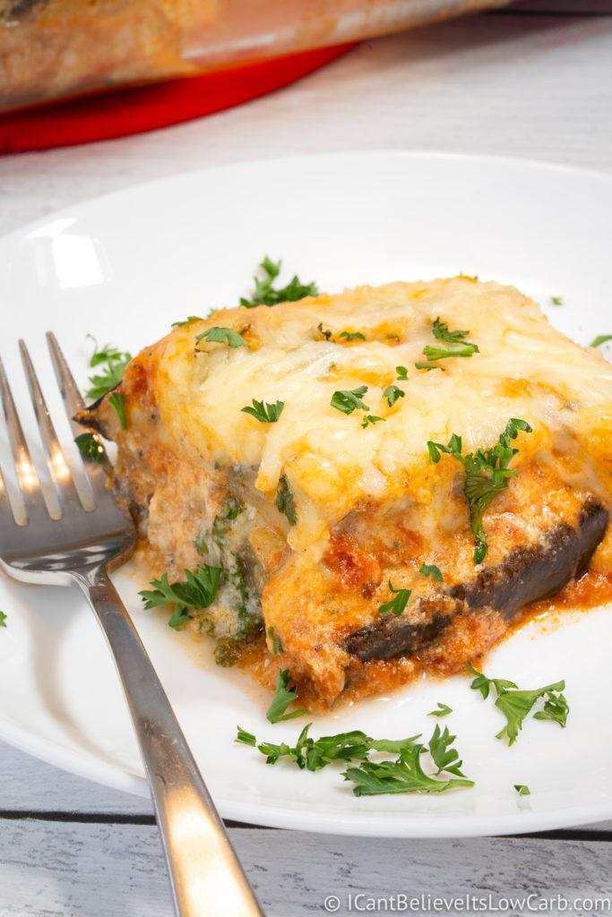 Healthy Keto Eggplant Lasagna