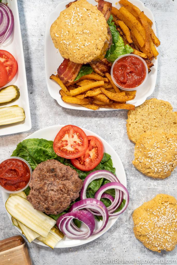 How to make homemade Hamburgers
