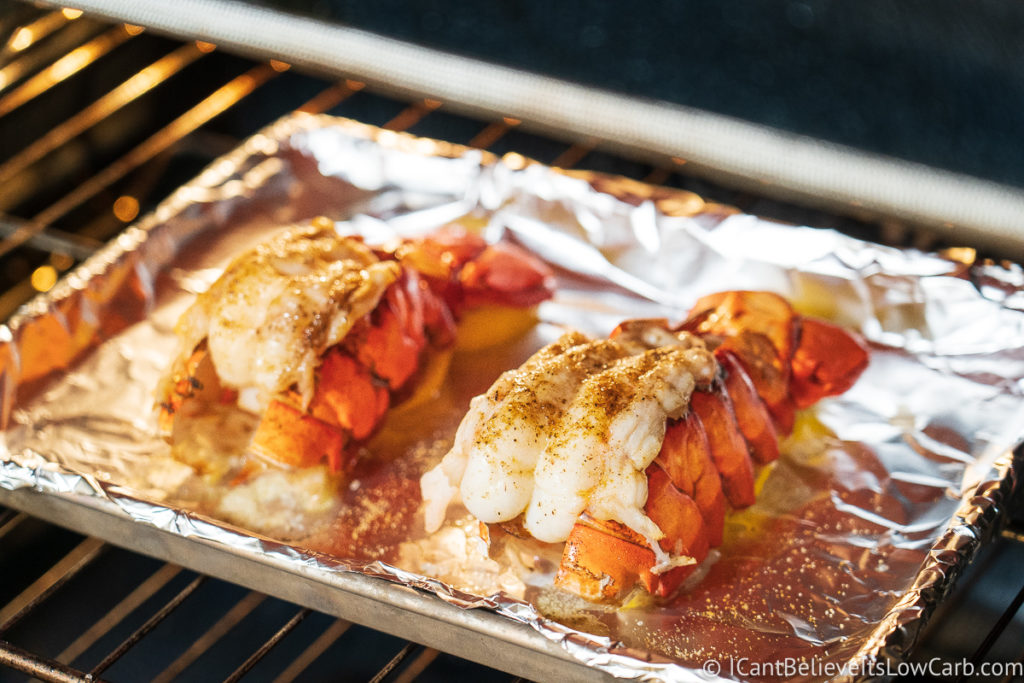 Broiling Lobster Tails in the oven