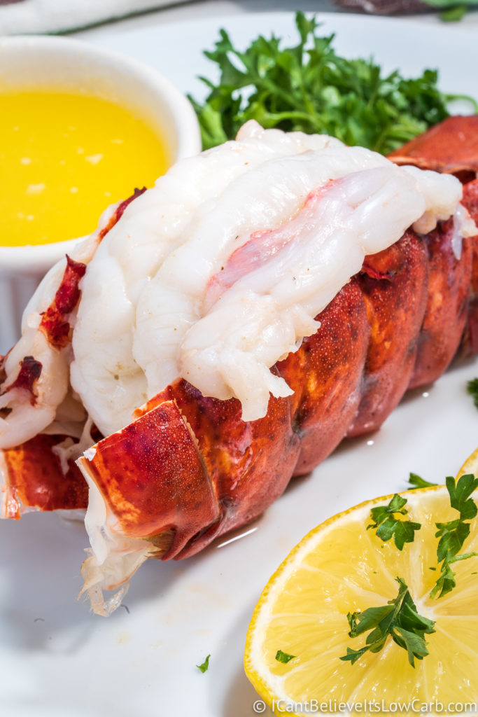 Steamed Lobster Tails Recipe