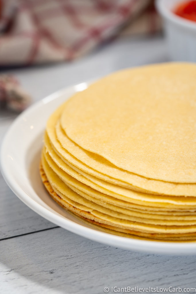 Easy Almond Flour Tortillas