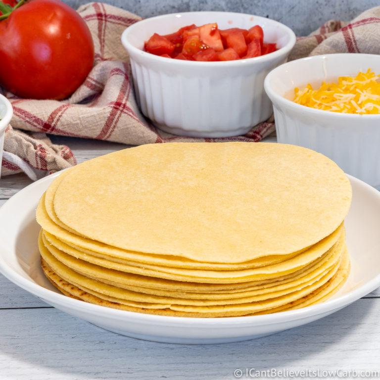 Easy Keto Low Carb Tortillas