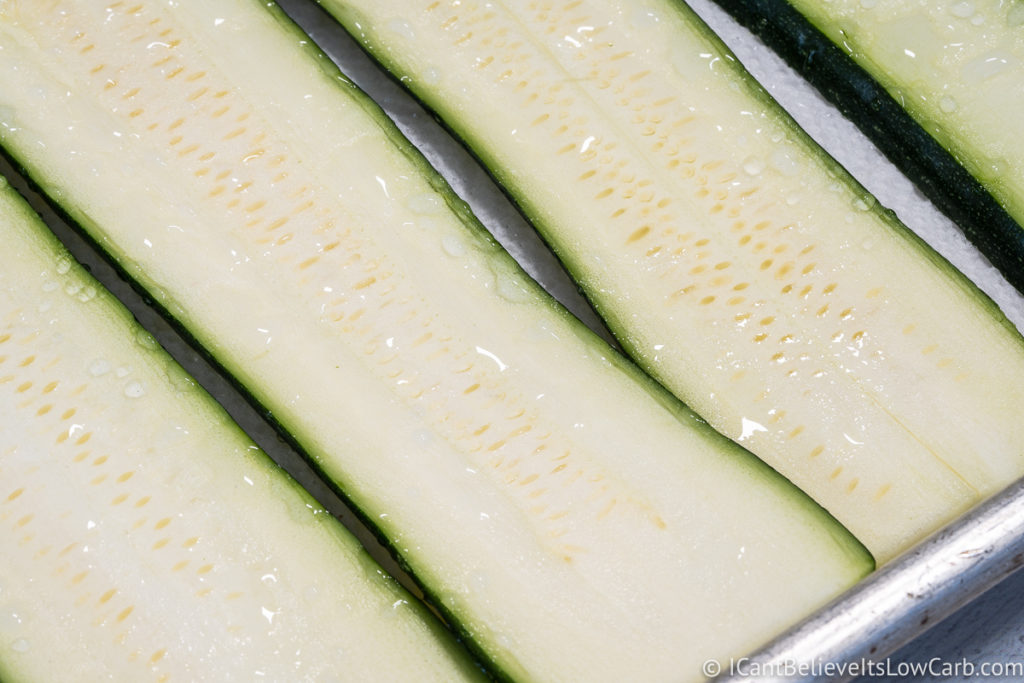 Sweating Zucchini Noodles