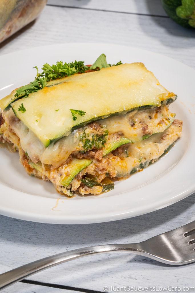 Zucchini Noodles Lasagna