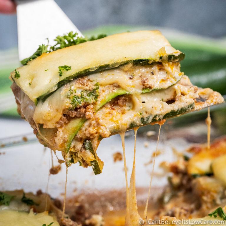 Keto Zucchini Lasagna