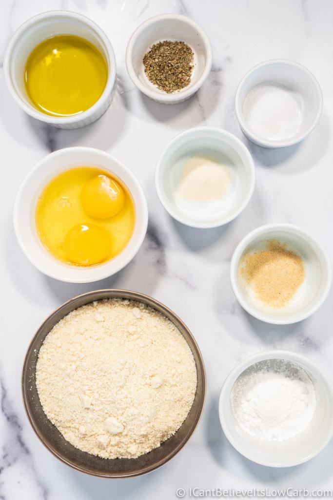 Almond Flour Pizza Crust Ingredients