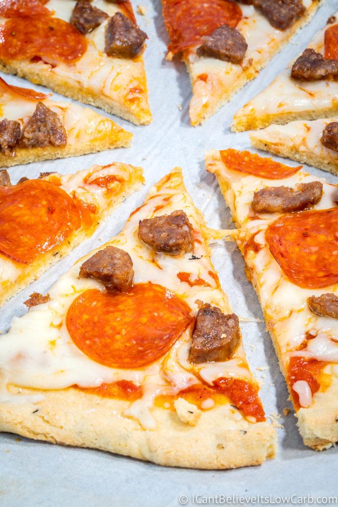 Almond Flour Pizza Crust Recipe