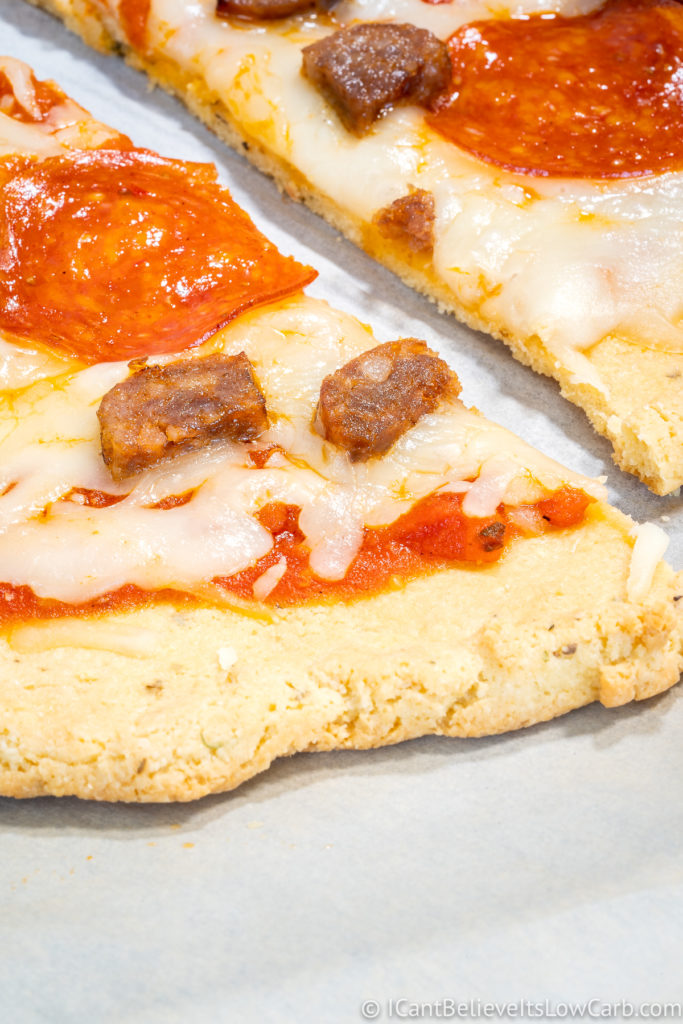 Pizza Crust with Almond Flour