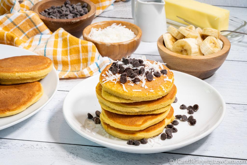 Low Carb Keto Coconut Flour Pancakes