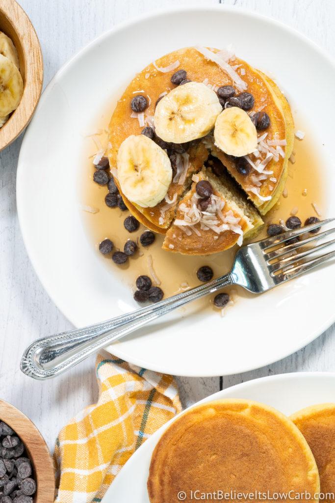 Best Keto Coconut Flour Pancakes