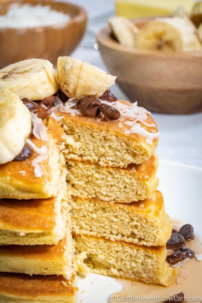 Easy Keto Coconut Flour Pancakes