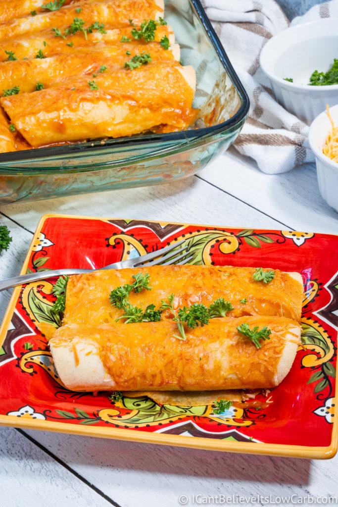 Keto-Friendly Enchiladas