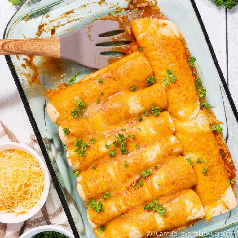 Low Carb Keto Enchiladas Recipe