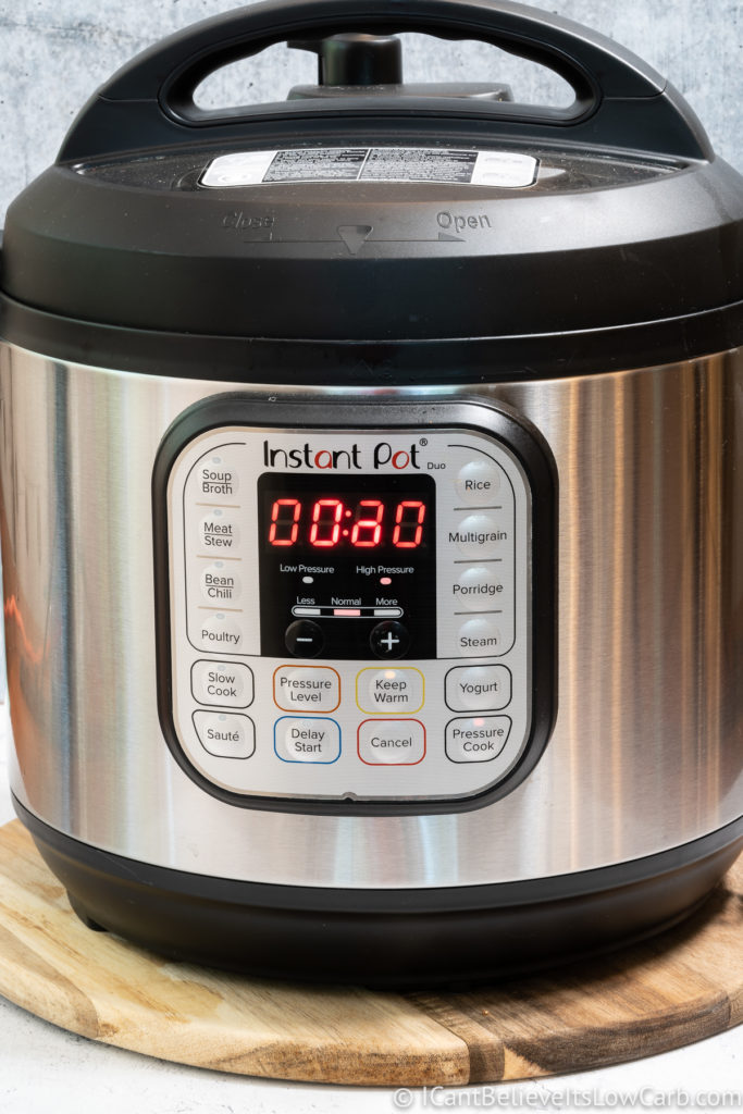 Instant Pot on the counter