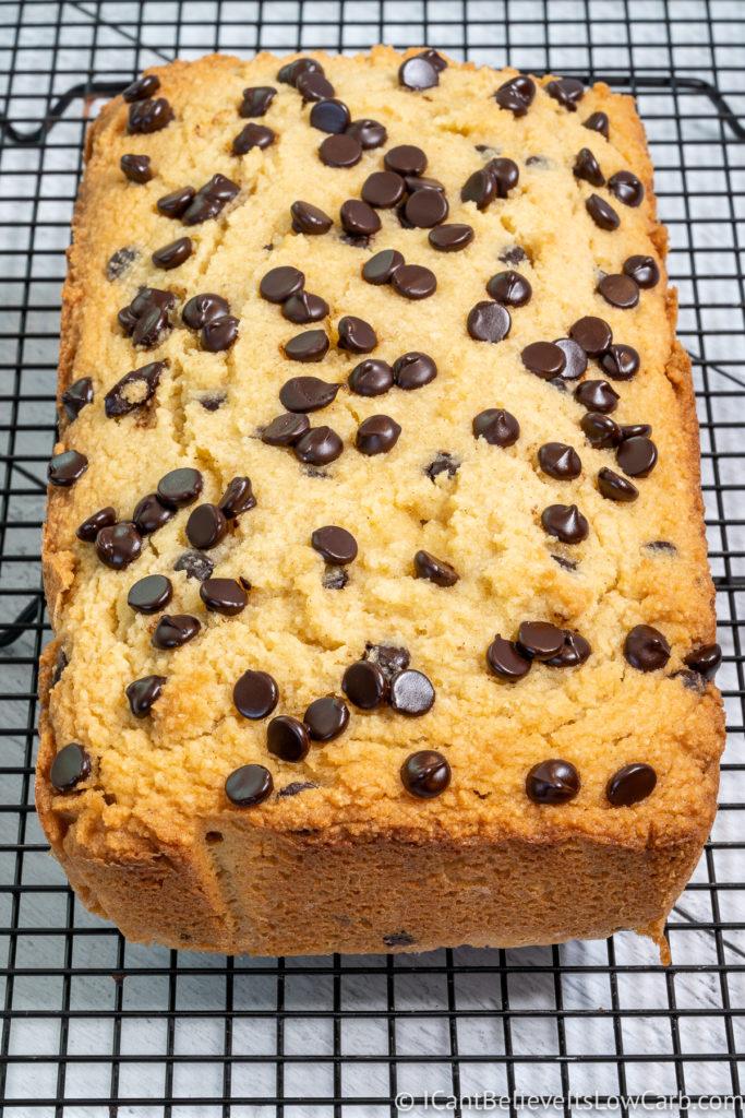 Sugar-Free Banana Bread with almond flour