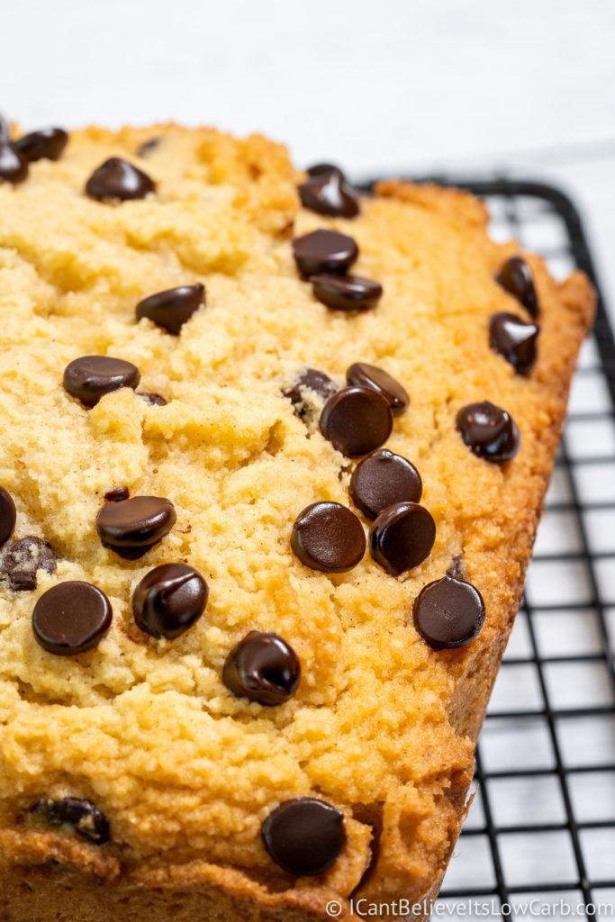 Keto Banana Bread with Almond Flour
