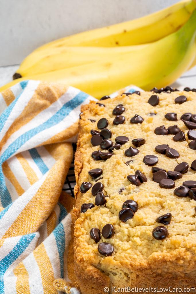No Sugar Banana Bread