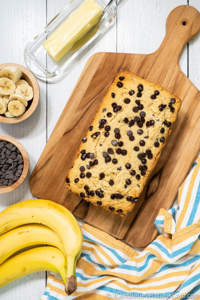 Best Low Carb Banana Bread