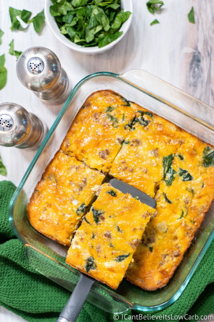 Keto Egg Bake Recipe