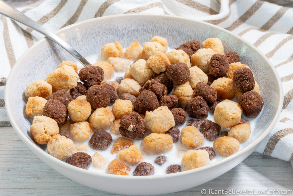 a bowl full of Keto Cereal