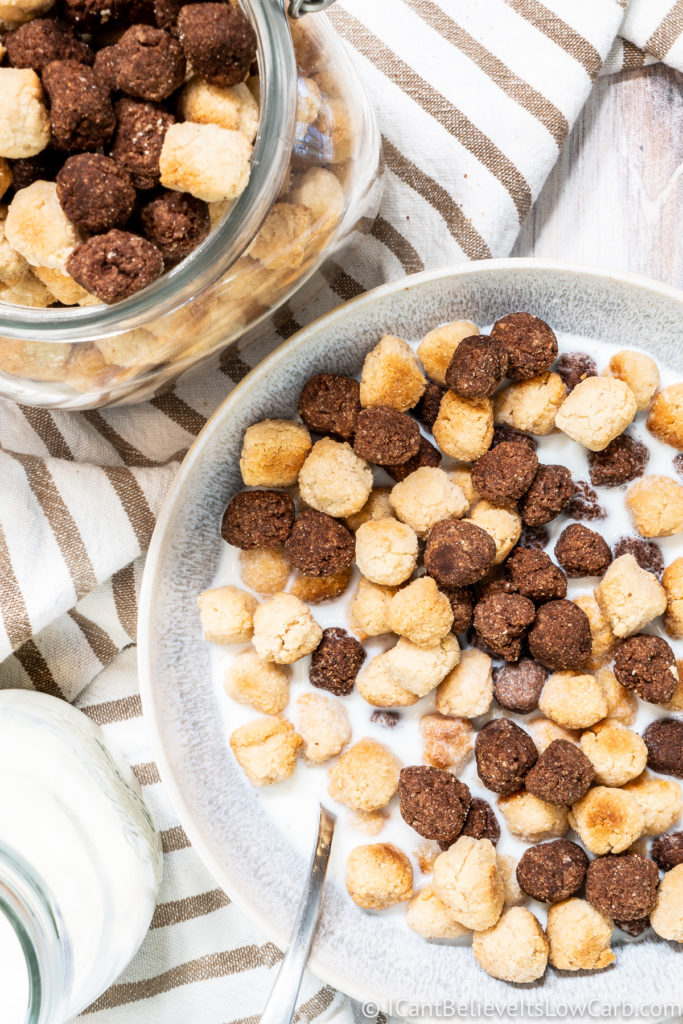 Low Carb Keto Breakfast Cereal
