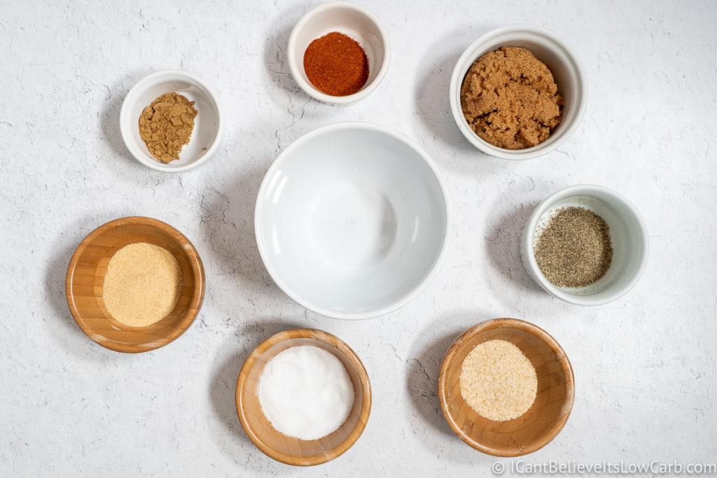 Slow Cooker Pulled Pork spices