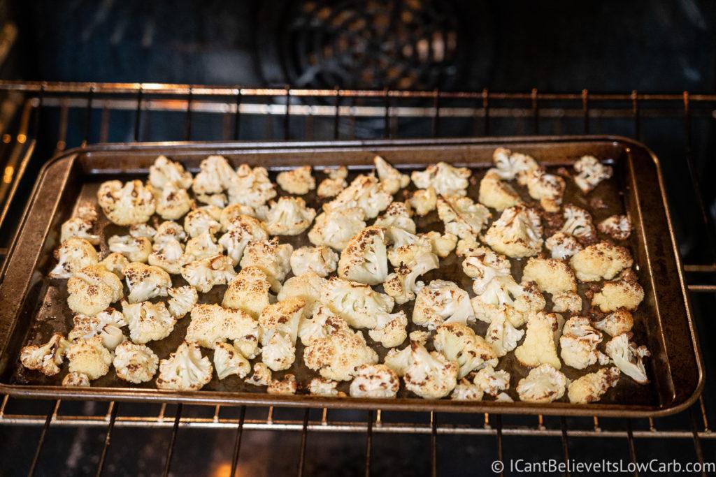 Baking Cauliflower in the oven