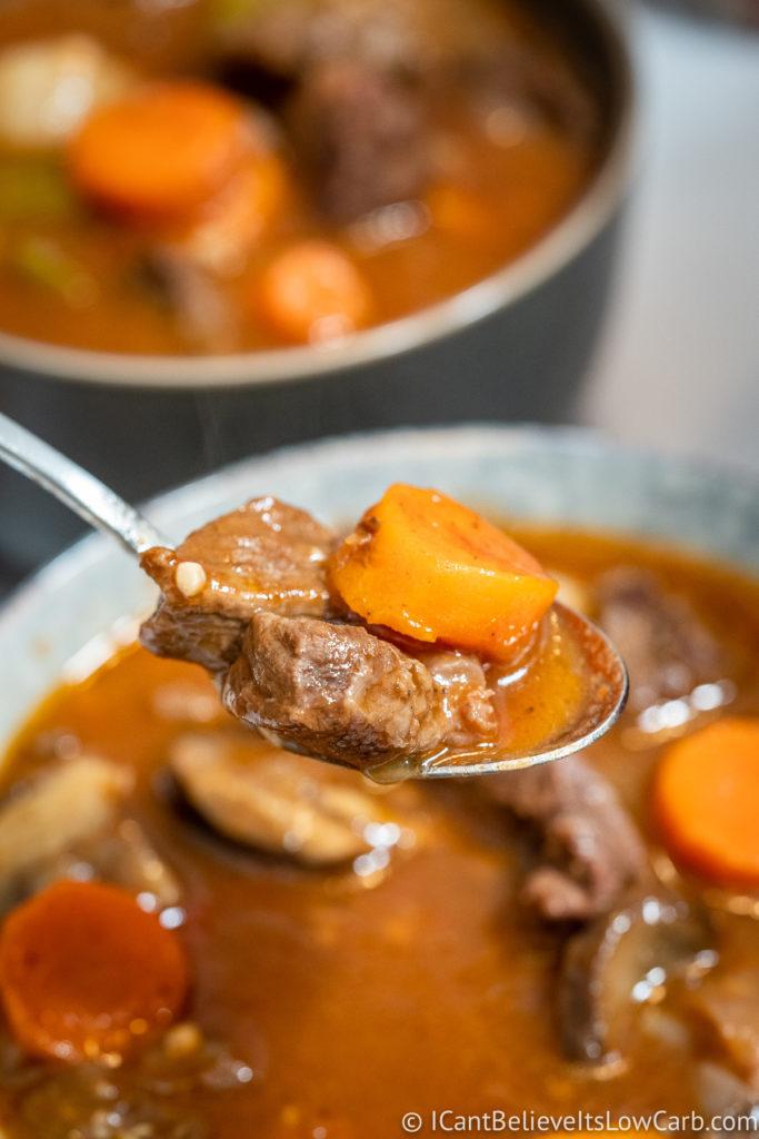 Keto Beef Stew Recipe