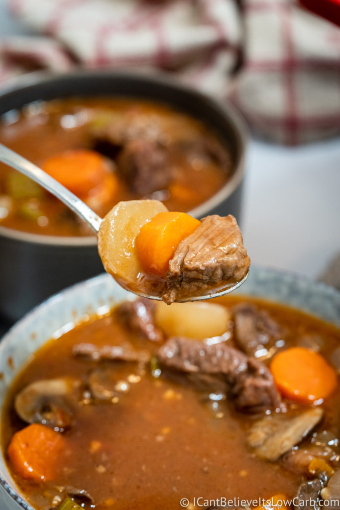Low Carb Keto Beef Stew Recipe