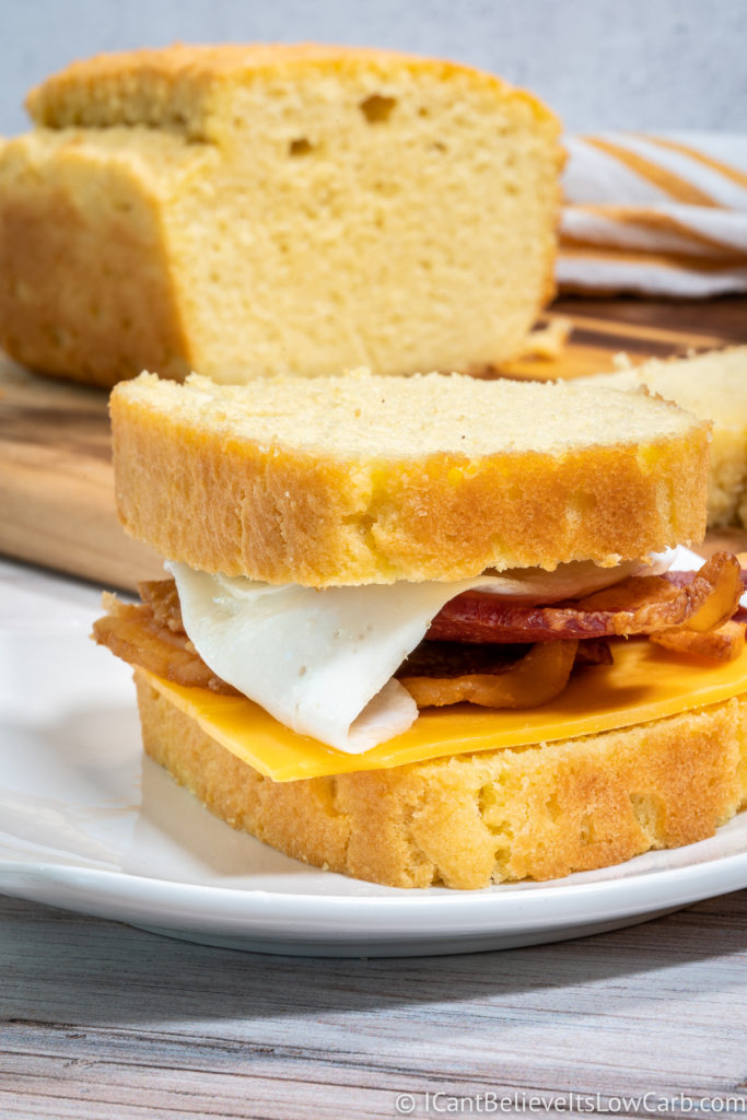 Using Keto Bread for a Sandwich