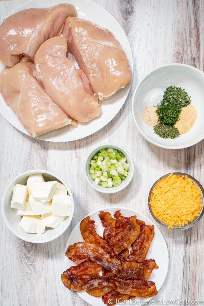 Keto Crack Chicken Ingredients