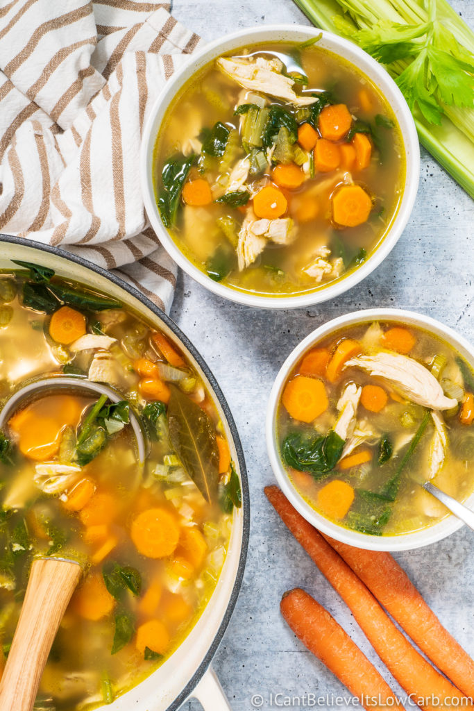 How to make Keto Chicken Soup