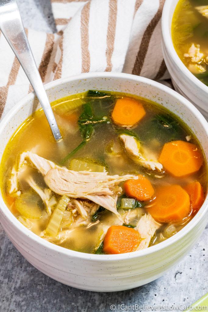 Best Keto Chicken Soup