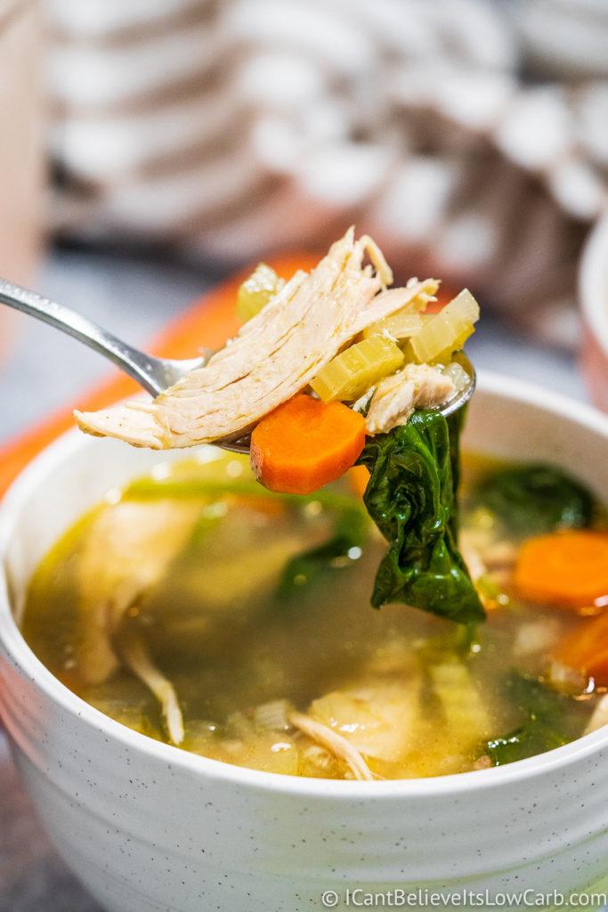 Keto Chicken Soup Recipe