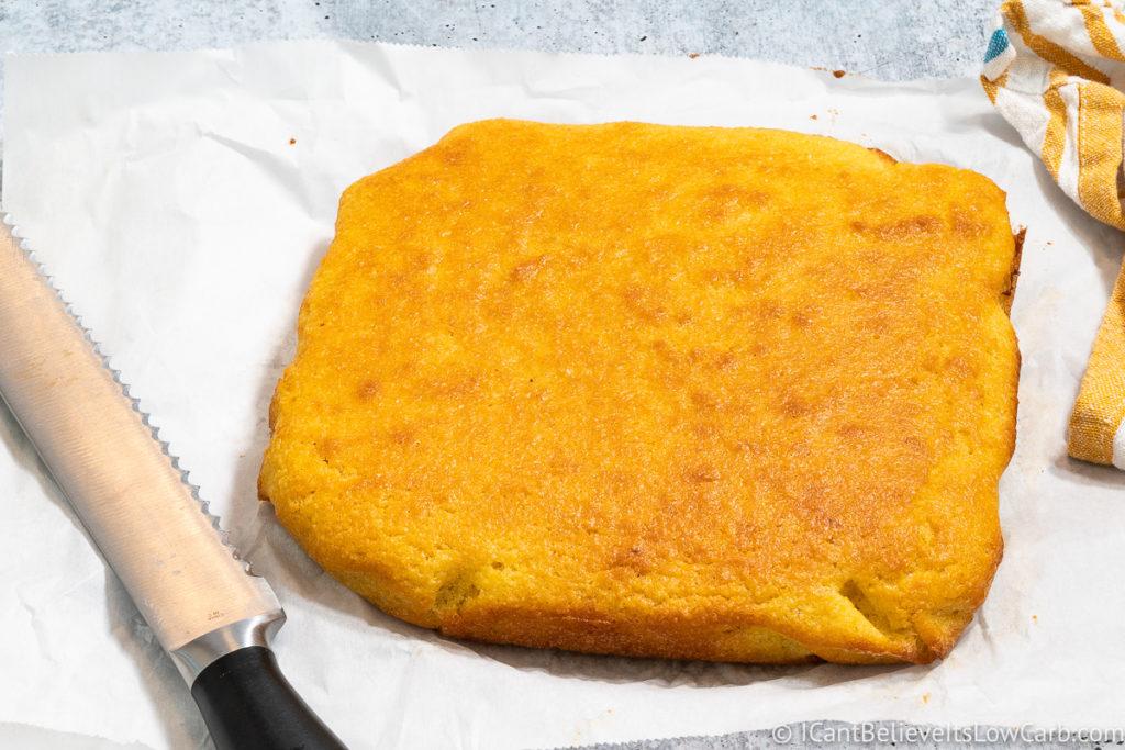 Fresh Keto Cornbread