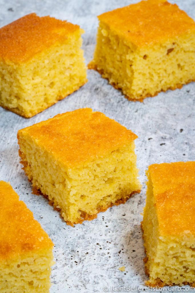 Almond Flour Keto Cornbread