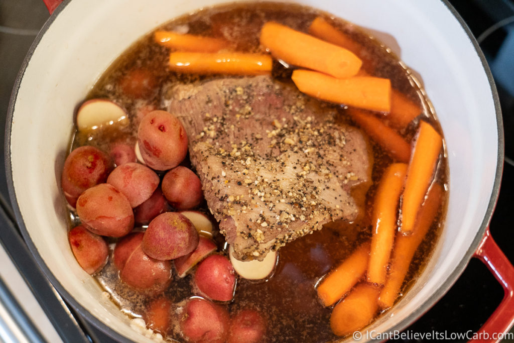 Adding Vegetables to Corned Beef