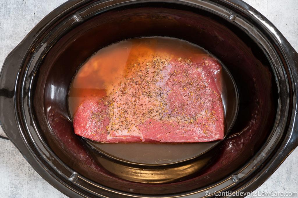 Corned Beef in Slow Cooker